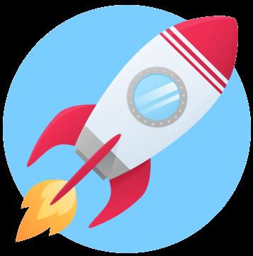 Billede af raket